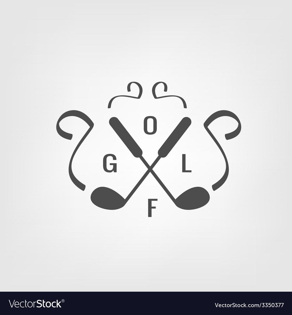 Golf icon vector | Price: 1 Credit (USD $1)