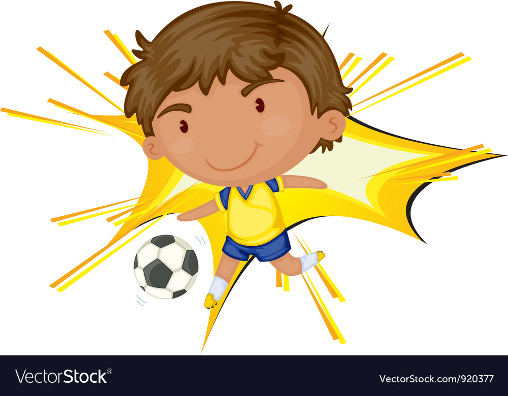 Soccer star vector | Price: 3 Credit (USD $3)