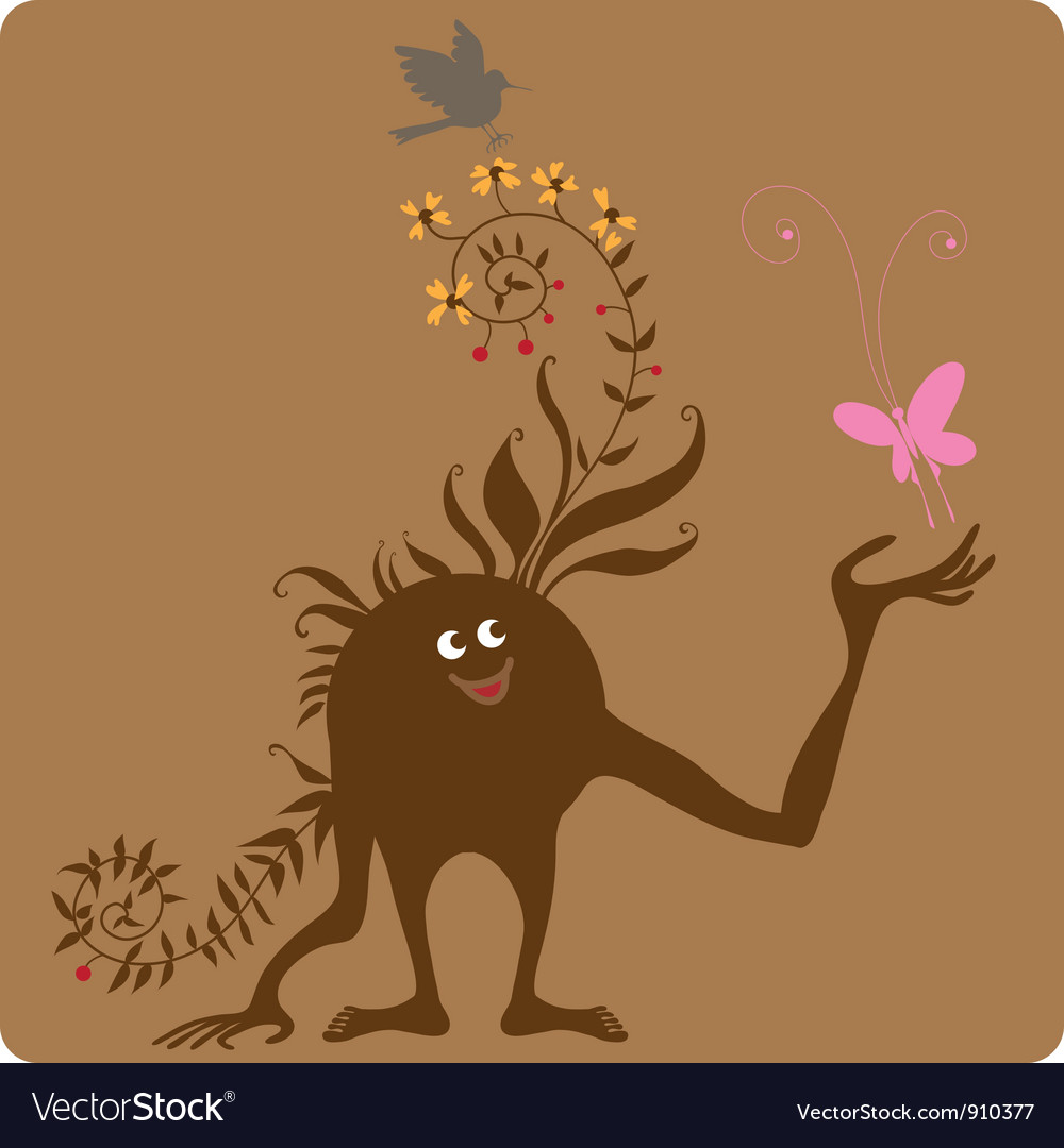 Tuned into nature vector | Price: 1 Credit (USD $1)