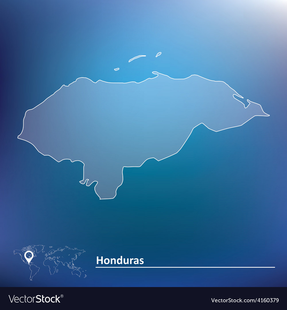 Map of honduras vector   Price: 1 Credit (USD $1)