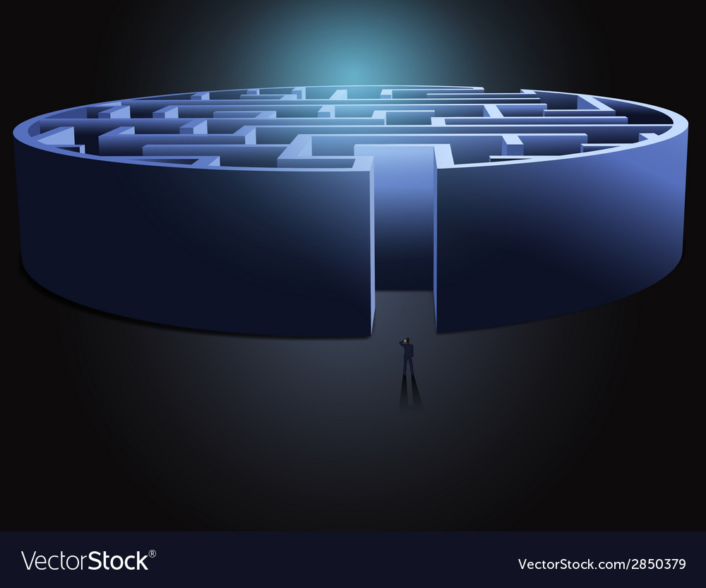 Maze business concept vector   Price: 1 Credit (USD $1)