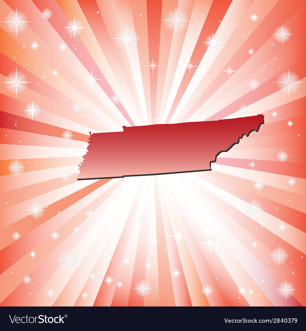 Red tennessee vector | Price: 1 Credit (USD $1)