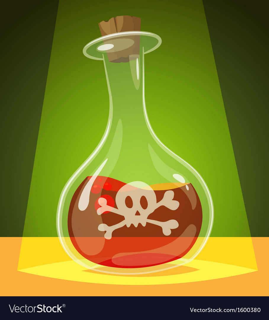 Poisonous potion vector | Price: 1 Credit (USD $1)