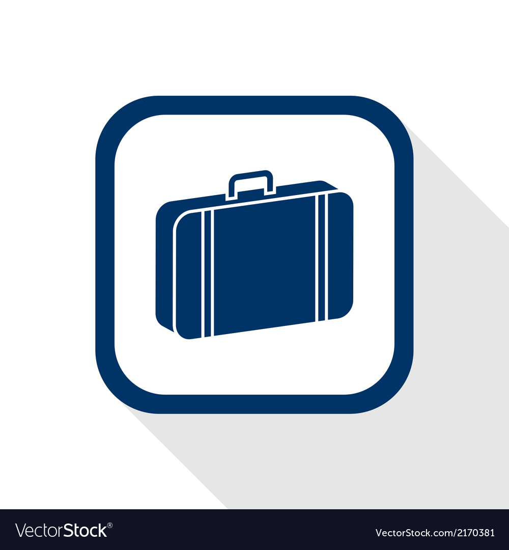 Case flat icon vector | Price: 1 Credit (USD $1)