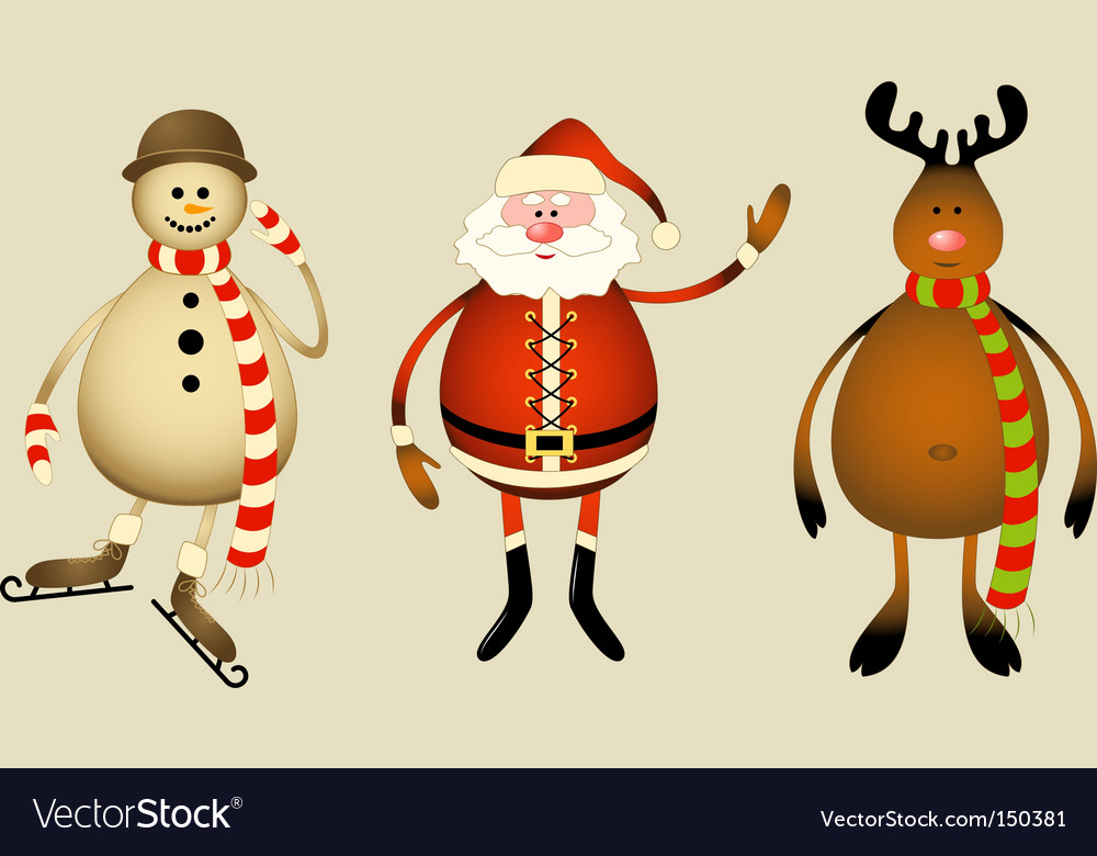 Christmas gang vector | Price: 1 Credit (USD $1)