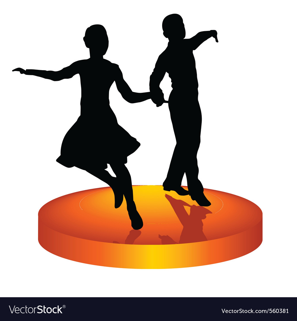 Dance a waltz vector | Price: 1 Credit (USD $1)