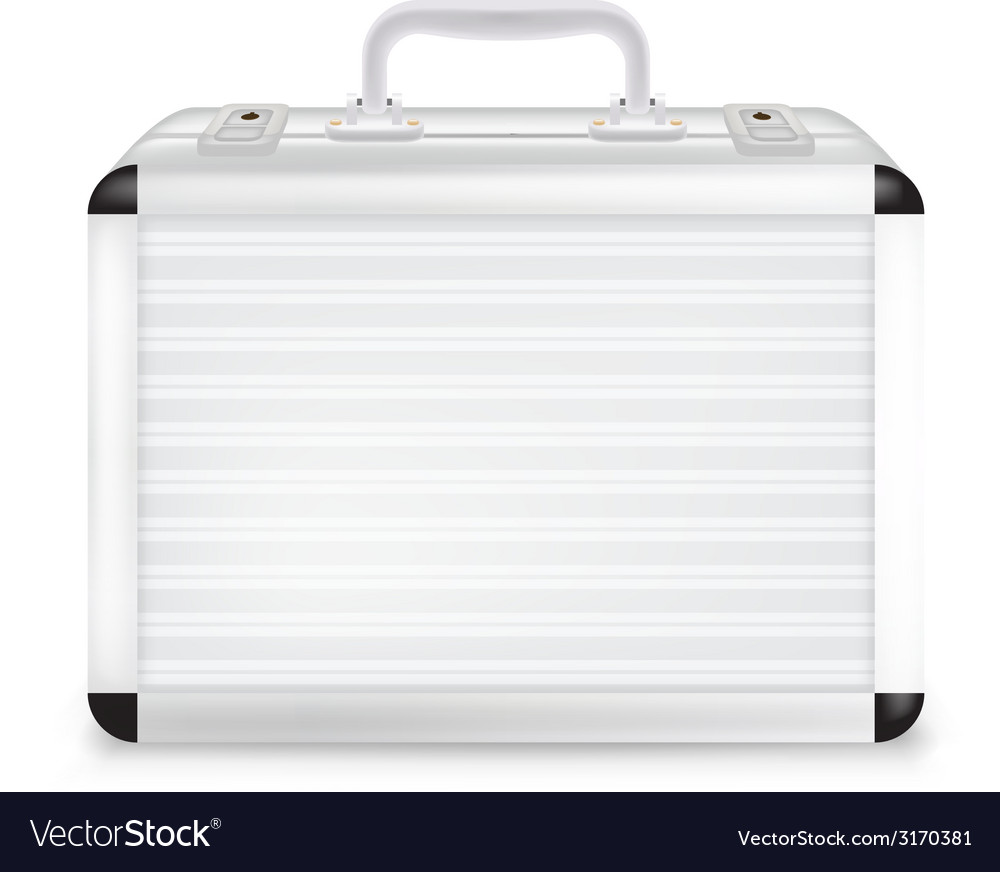 Metal suitcase vector | Price: 1 Credit (USD $1)