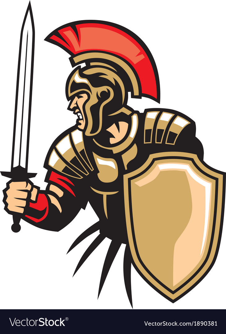 Roman army vector | Price: 3 Credit (USD $3)