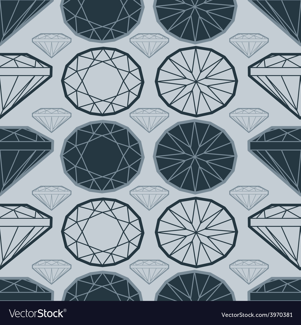 Seamless deamond new 02 vector | Price: 1 Credit (USD $1)