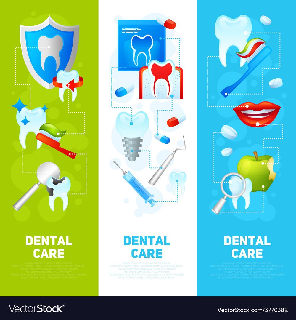 Dental banner set vector   Price: 1 Credit (USD $1)