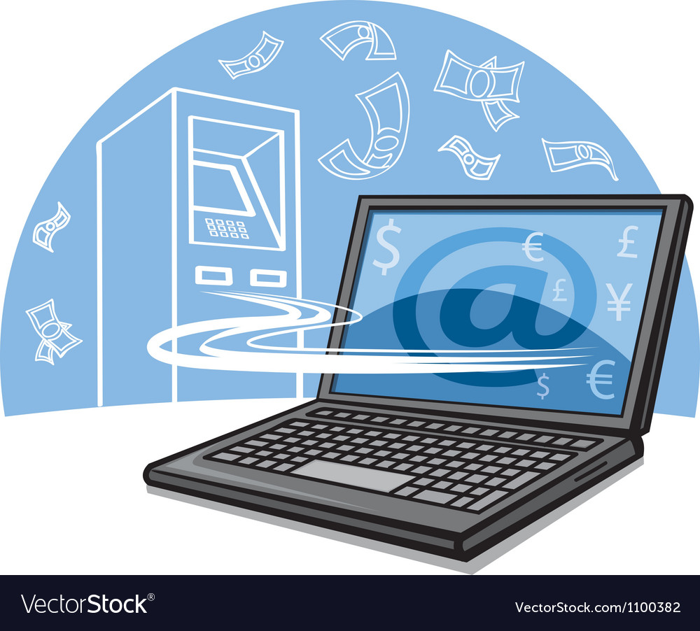 Internet banking vector | Price: 3 Credit (USD $3)