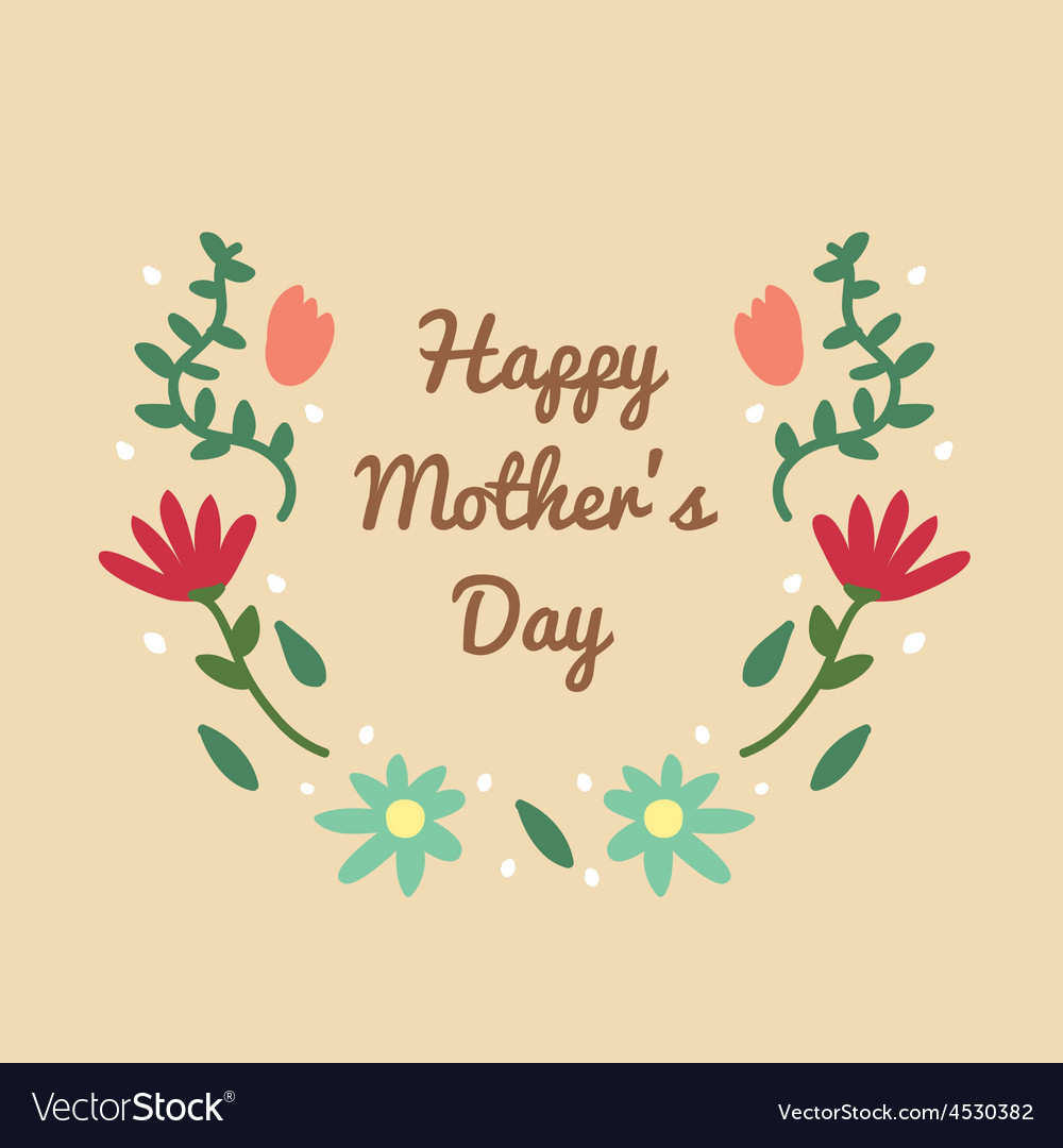 Mother day vector | Price: 1 Credit (USD $1)