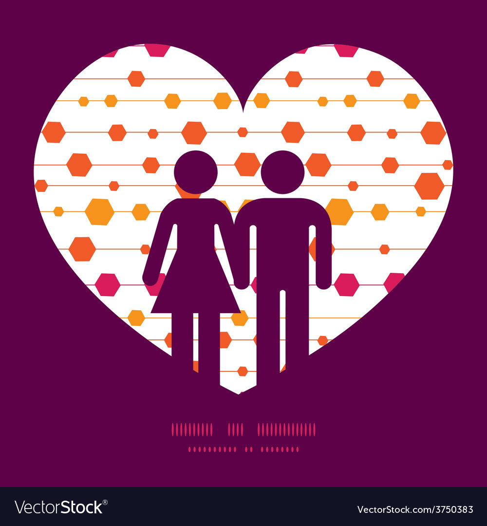 Abstract colorful stripes and shapes couple vector | Price: 1 Credit (USD $1)