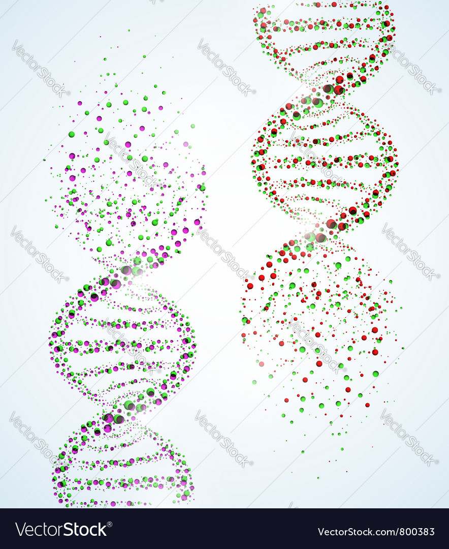 Dna structure destruction vector | Price: 1 Credit (USD $1)
