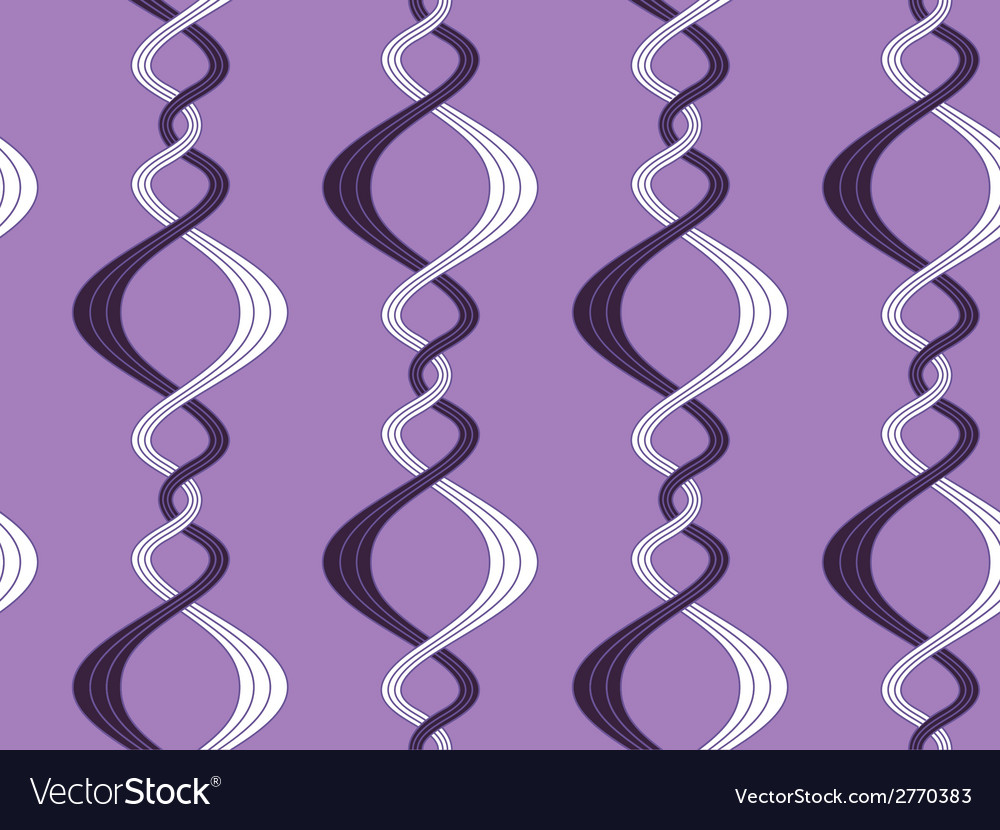 Pattern of curvy lines vector | Price: 1 Credit (USD $1)