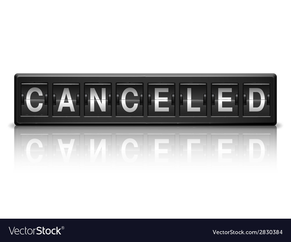 Canceled message vector | Price: 1 Credit (USD $1)