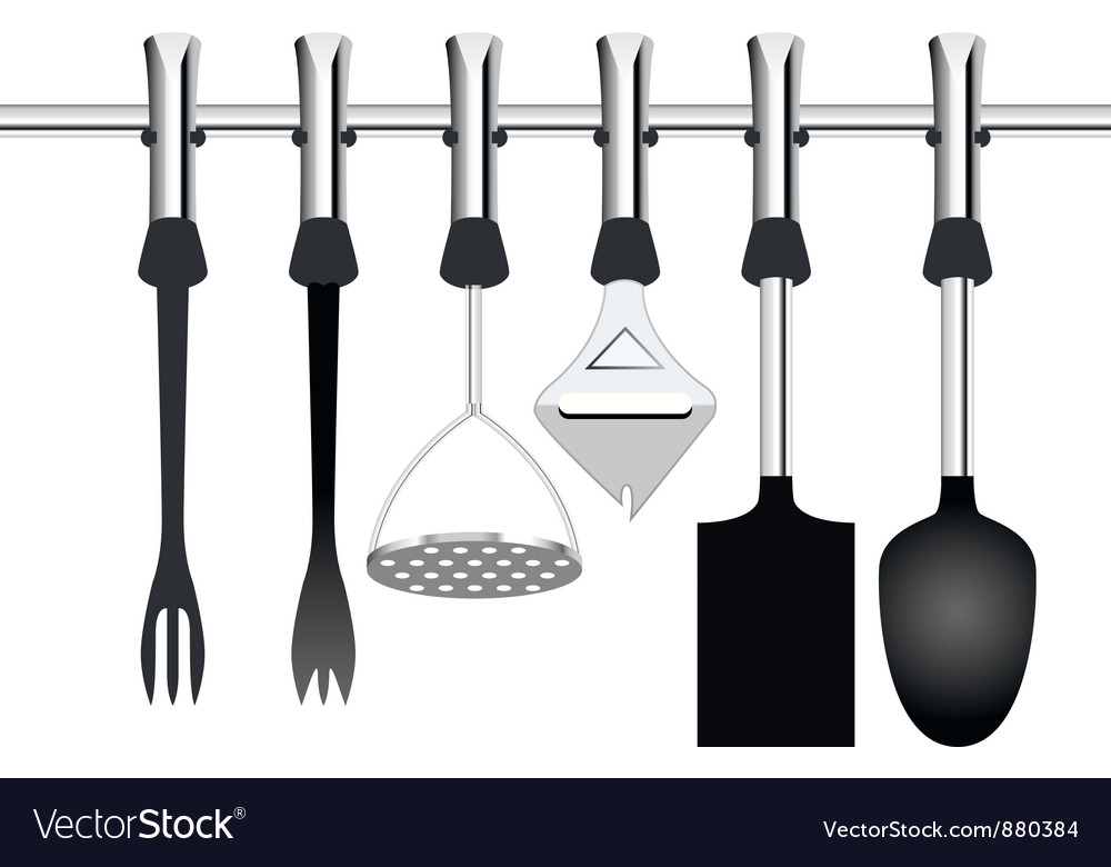 Kitchen items related to cooking vector | Price: 1 Credit (USD $1)