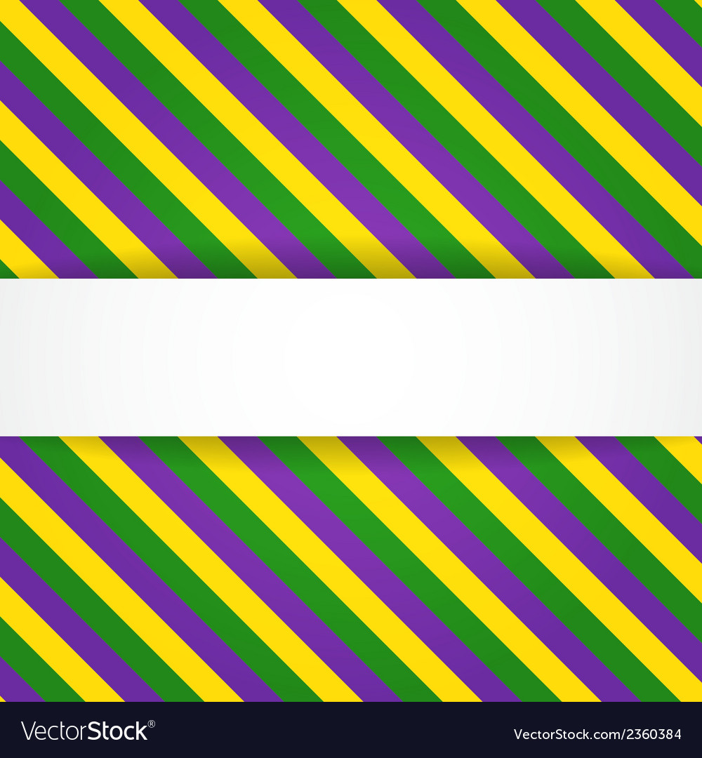 Mardi gras background with banner vector | Price: 1 Credit (USD $1)