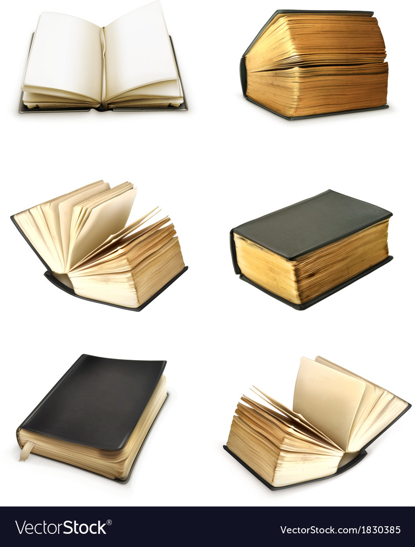 Book set vector | Price: 3 Credit (USD $3)