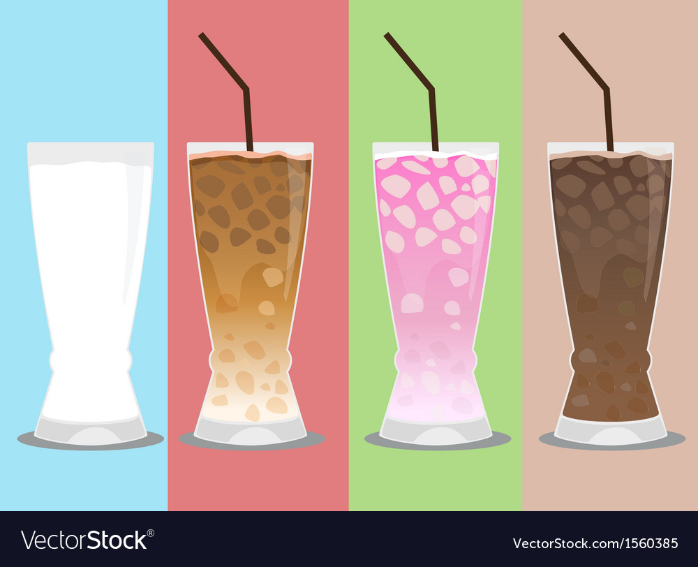 Cold drink vector | Price: 1 Credit (USD $1)