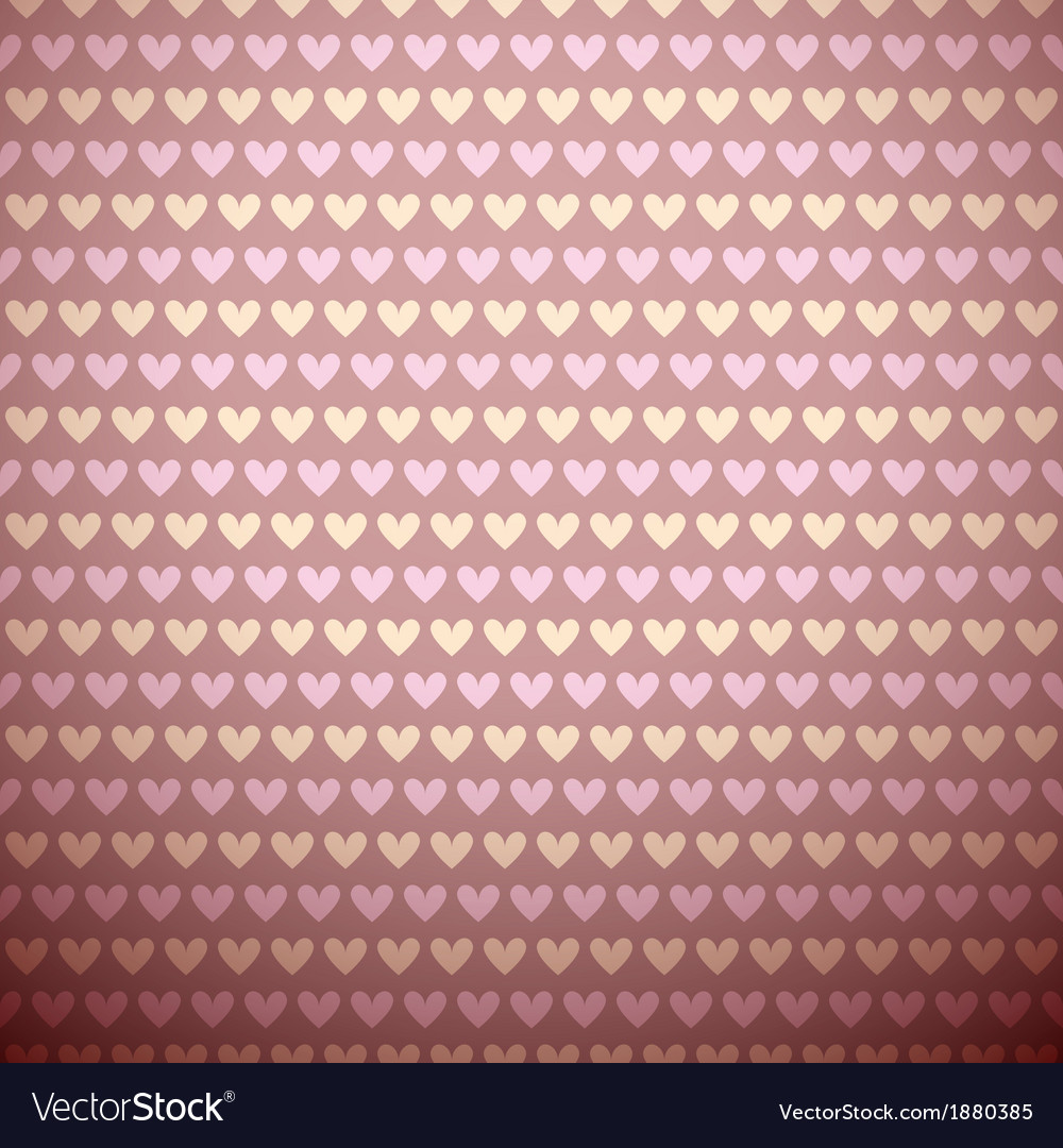 Romantic seamless pattern tiling sweet pink vector | Price: 1 Credit (USD $1)