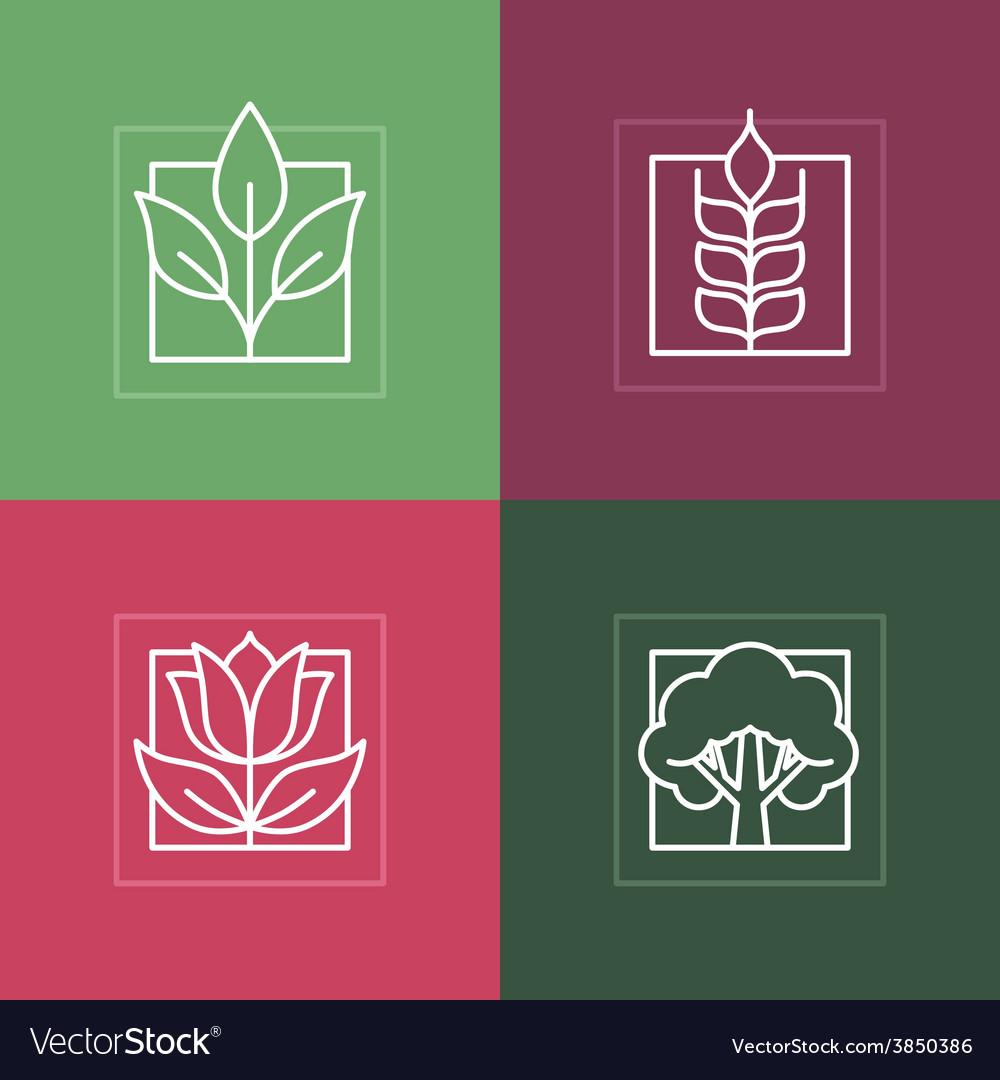 Line logos vector | Price: 1 Credit (USD $1)