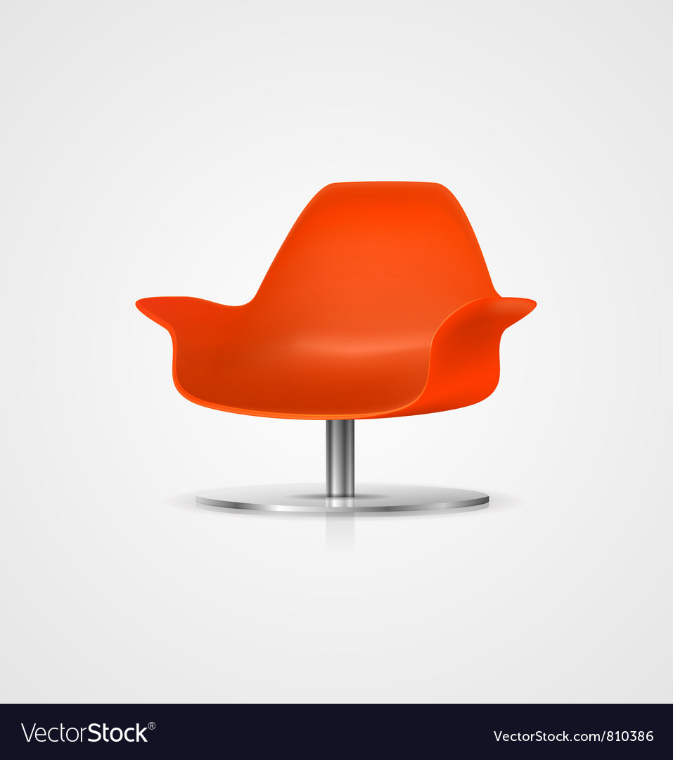 Plastic chair vector | Price: 1 Credit (USD $1)