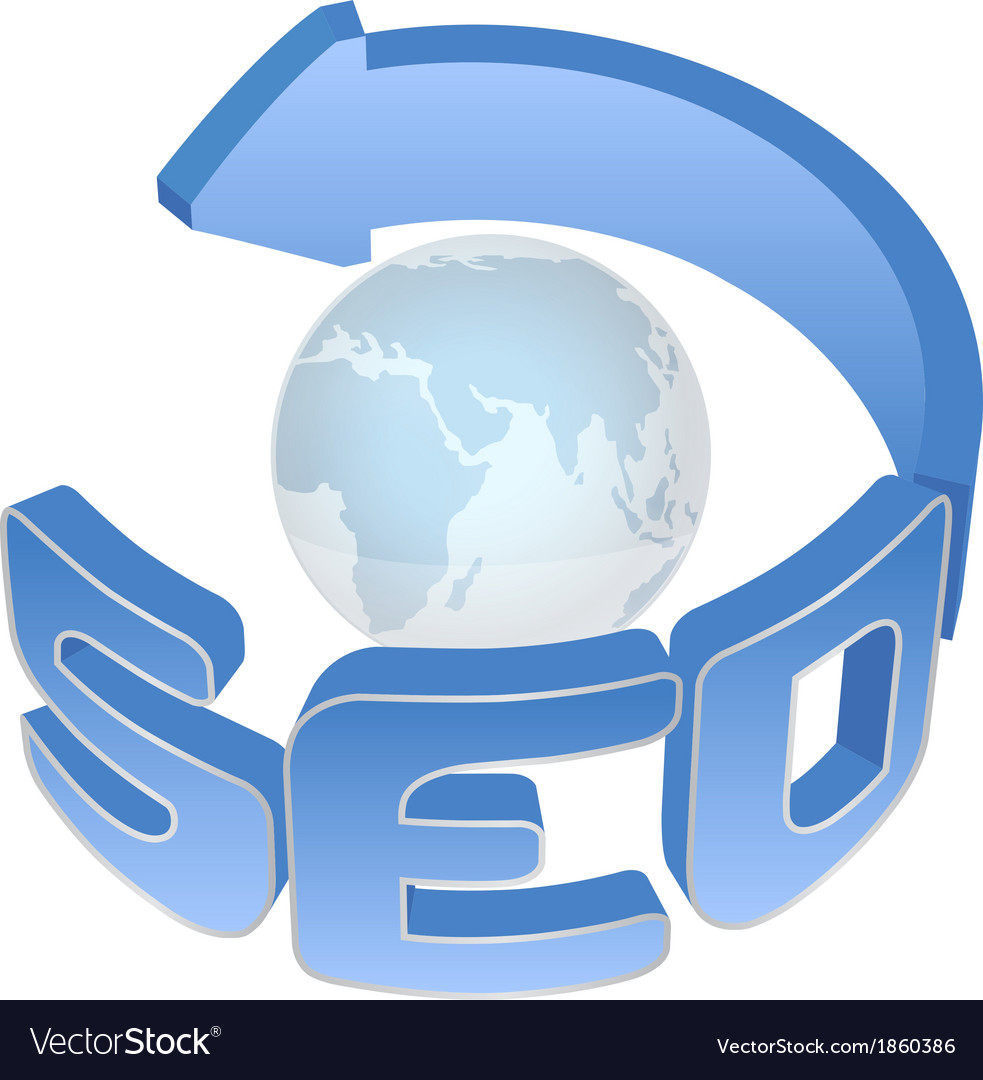 Seo sign vector | Price: 1 Credit (USD $1)