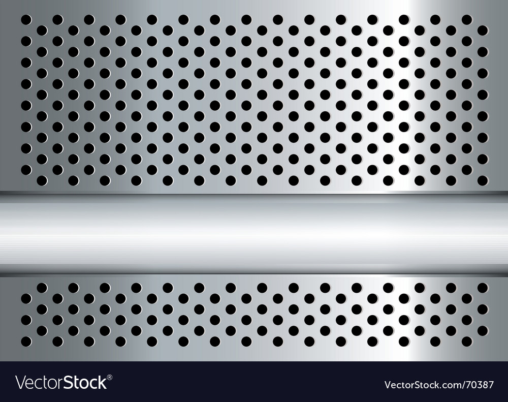 Gratted metal banner vector | Price: 1 Credit (USD $1)
