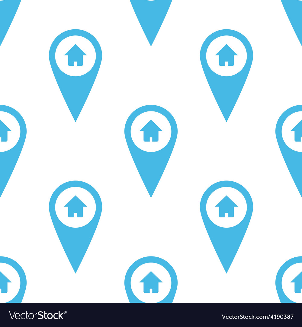 Home pointer seamless pattern vector | Price: 1 Credit (USD $1)