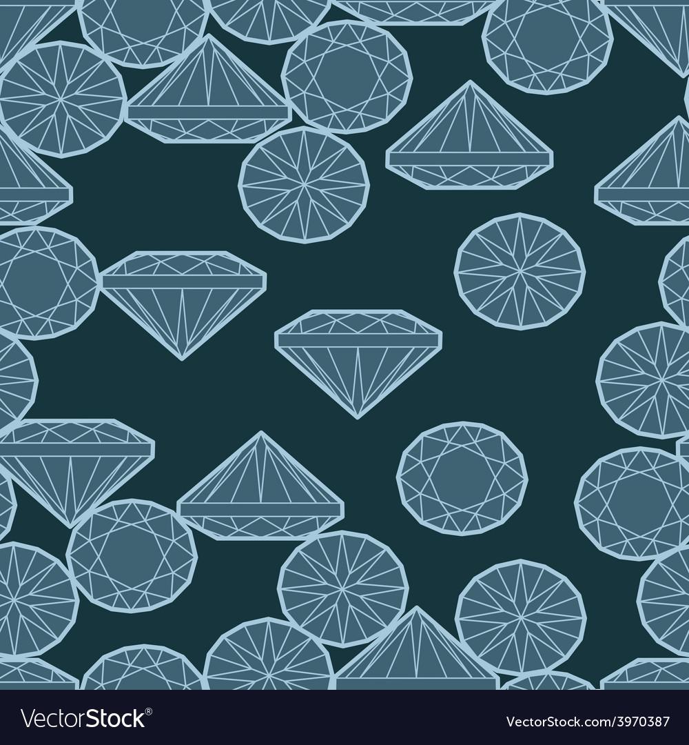 Seamless deamond new 03 vector | Price: 1 Credit (USD $1)
