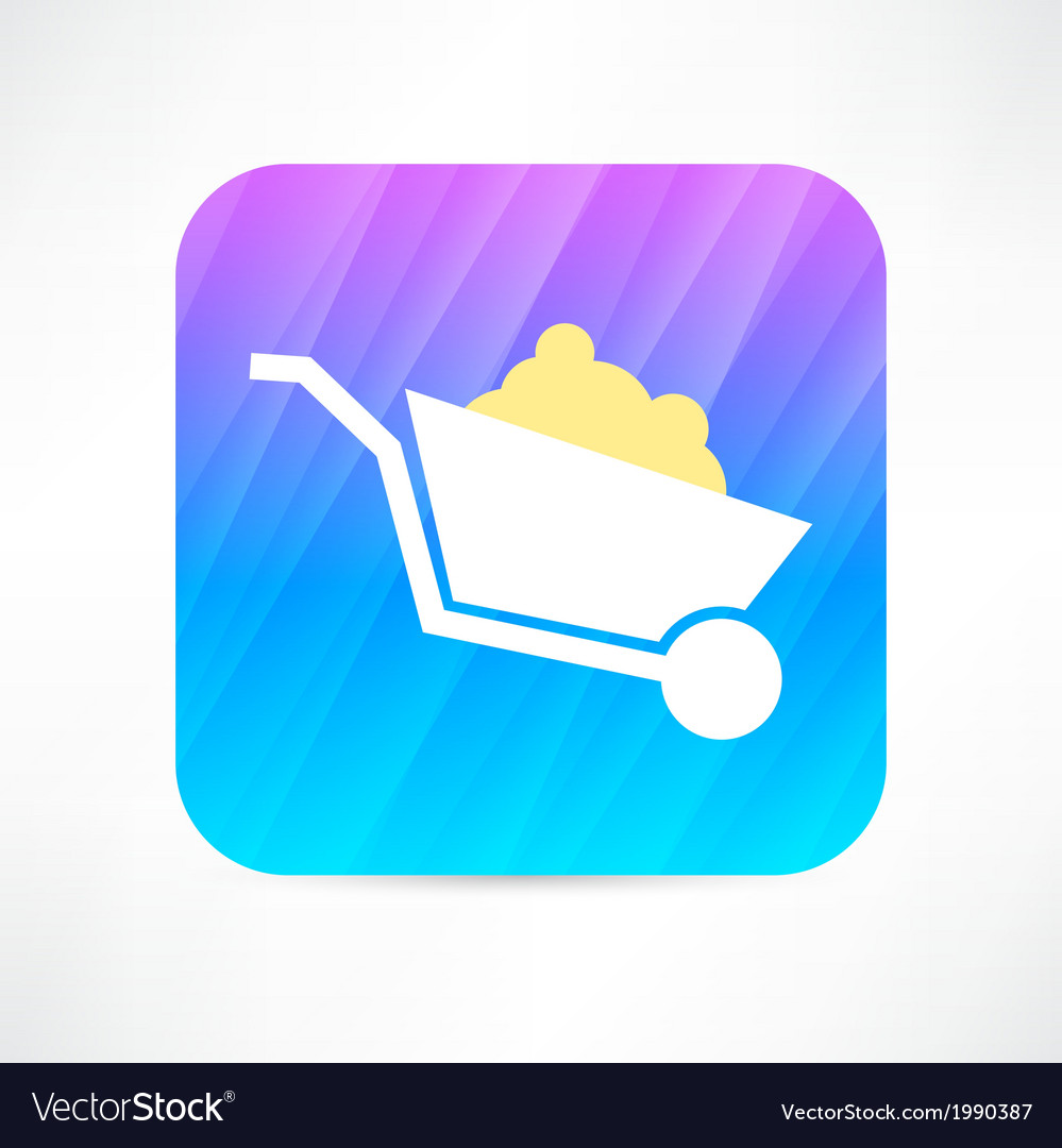 Trolley icon vector | Price: 1 Credit (USD $1)