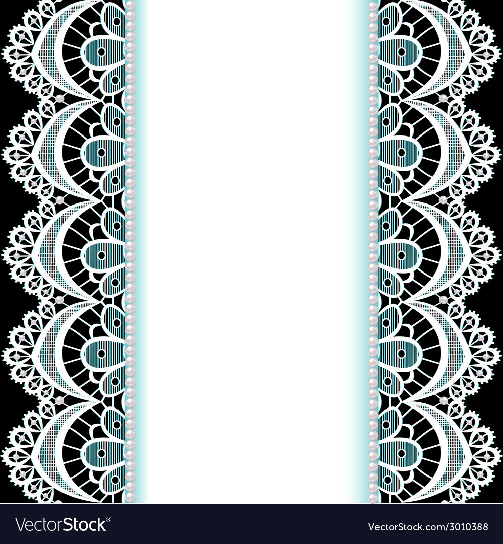Background with stripes of lace vector | Price: 1 Credit (USD $1)