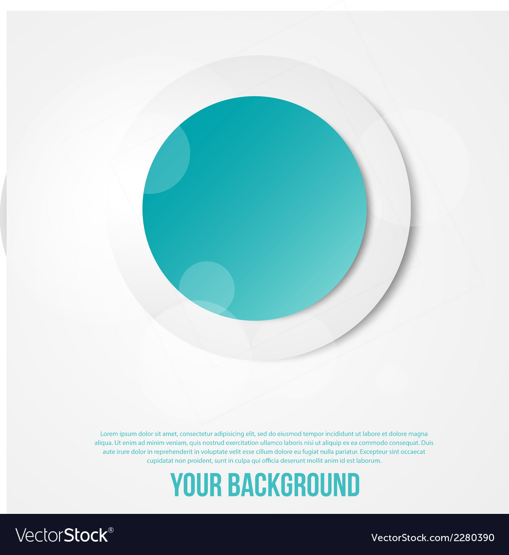 Abstract circles template object web vector | Price: 1 Credit (USD $1)