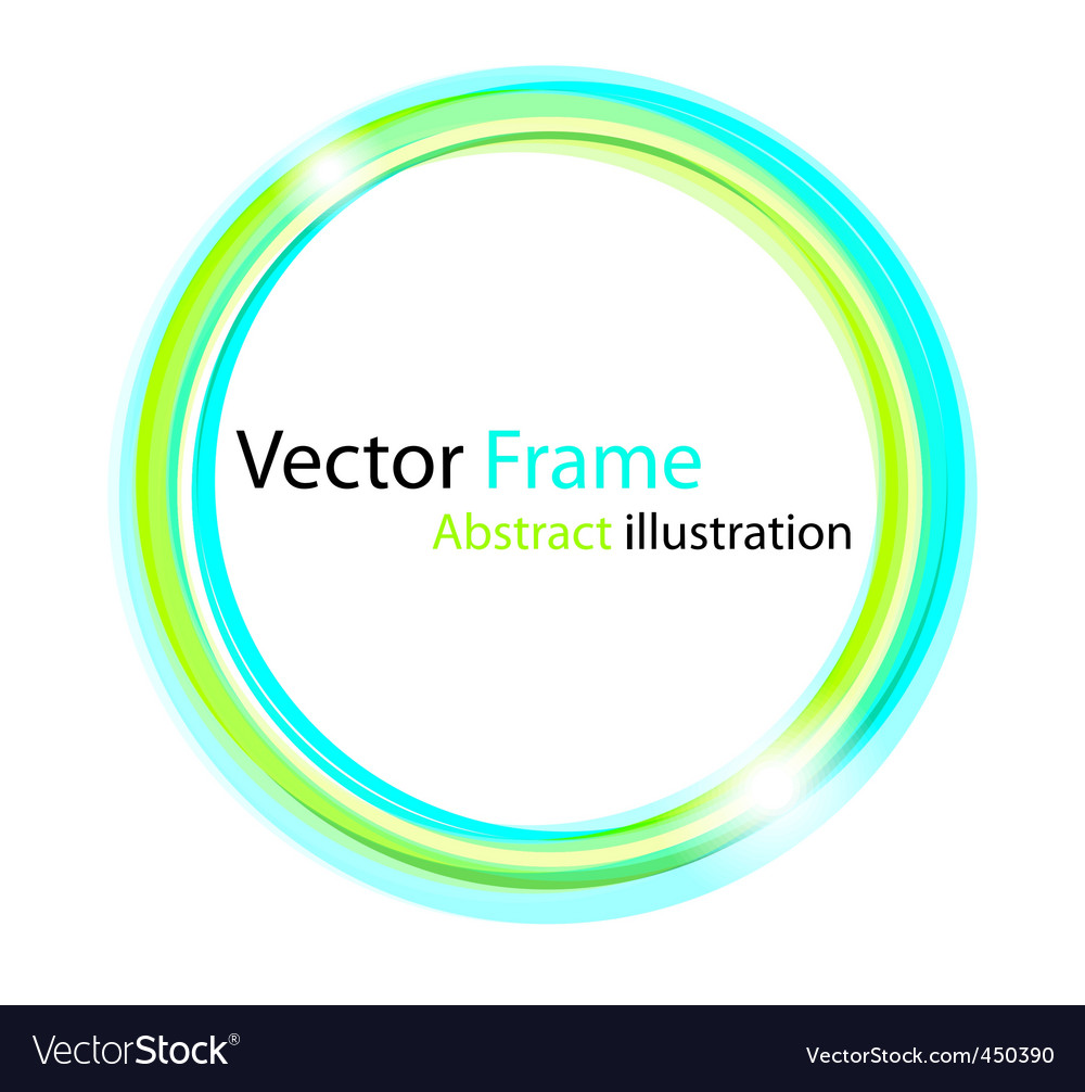 Colorful frame vector | Price: 1 Credit (USD $1)