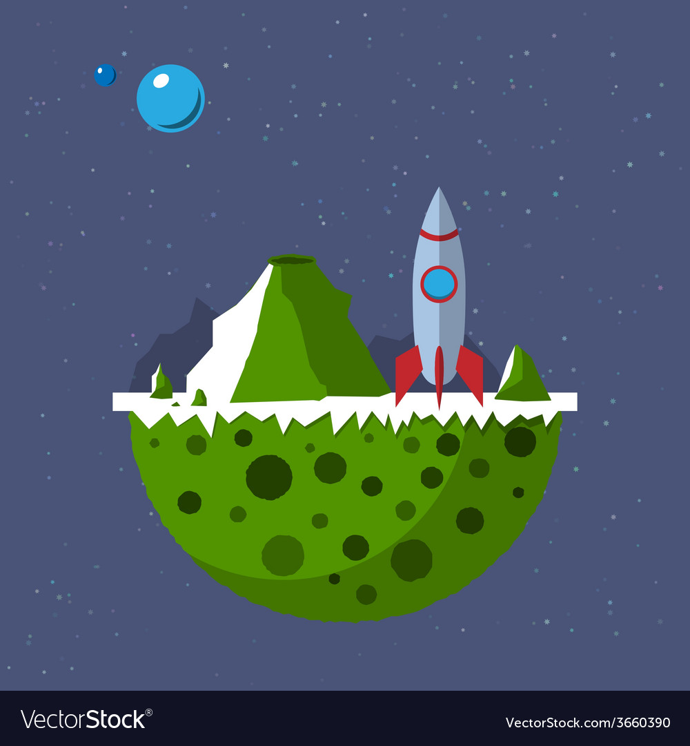 Far out planet vector | Price: 1 Credit (USD $1)