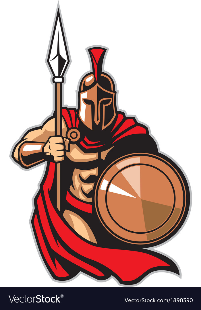 Spartan army vector | Price: 3 Credit (USD $3)