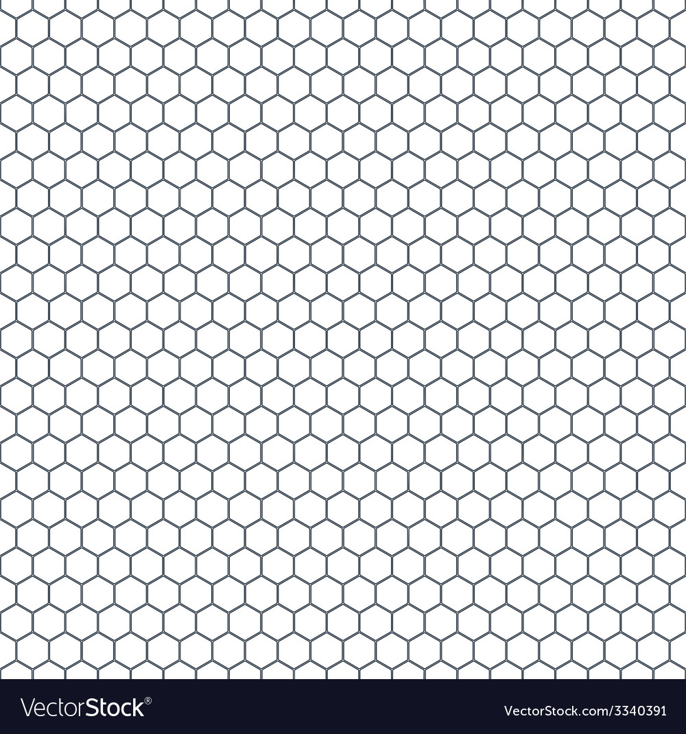 Hexagonal pattern vector | Price: 1 Credit (USD $1)