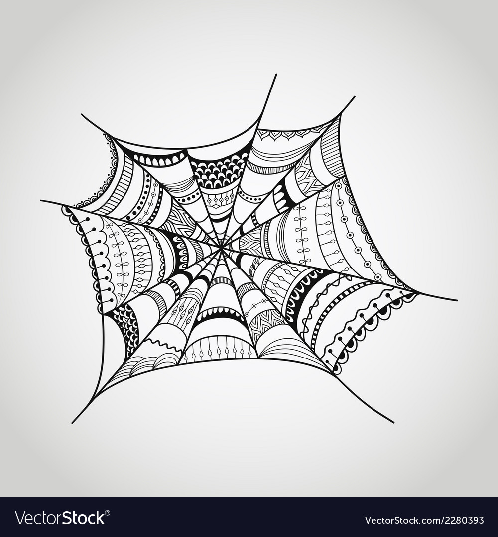Spider-web vector | Price: 1 Credit (USD $1)