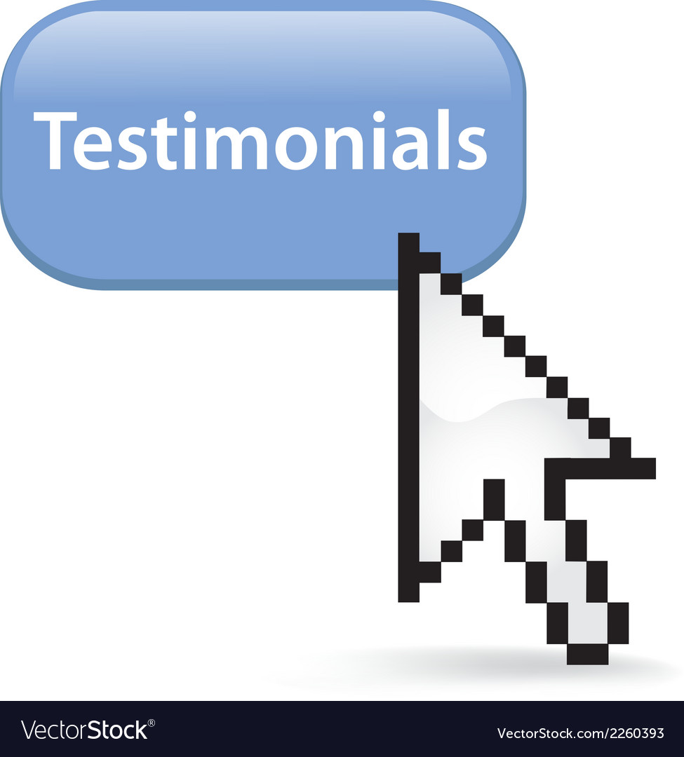 Testimonials button click vector | Price: 1 Credit (USD $1)
