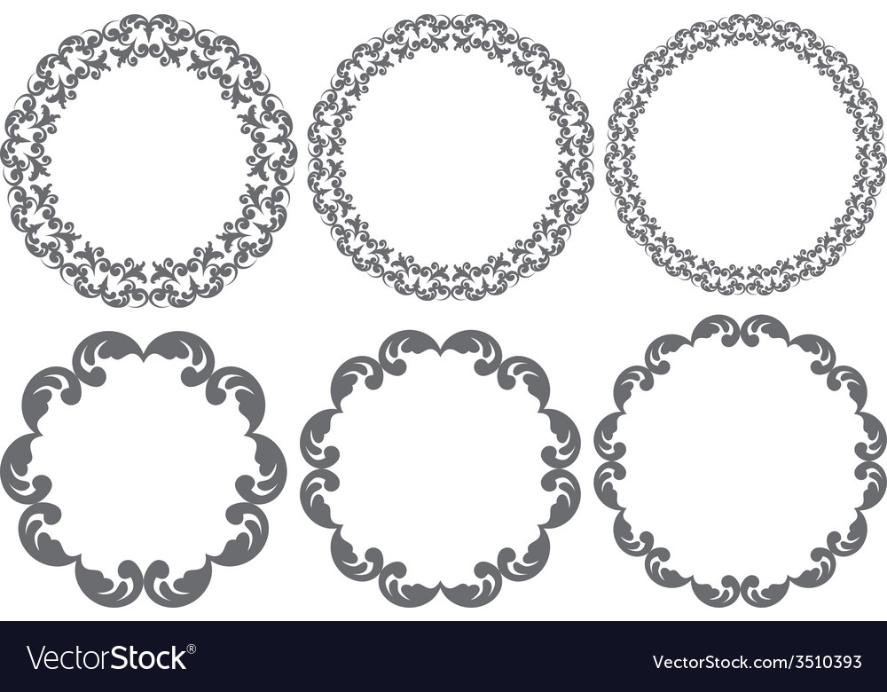Vintage frames vector | Price: 1 Credit (USD $1)