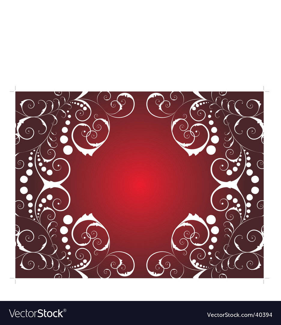 Christmas background ornate vector | Price: 1 Credit (USD $1)