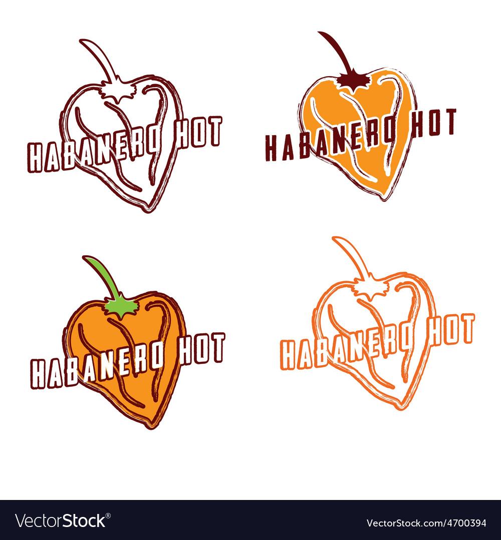 Habanero hot vector | Price: 1 Credit (USD $1)