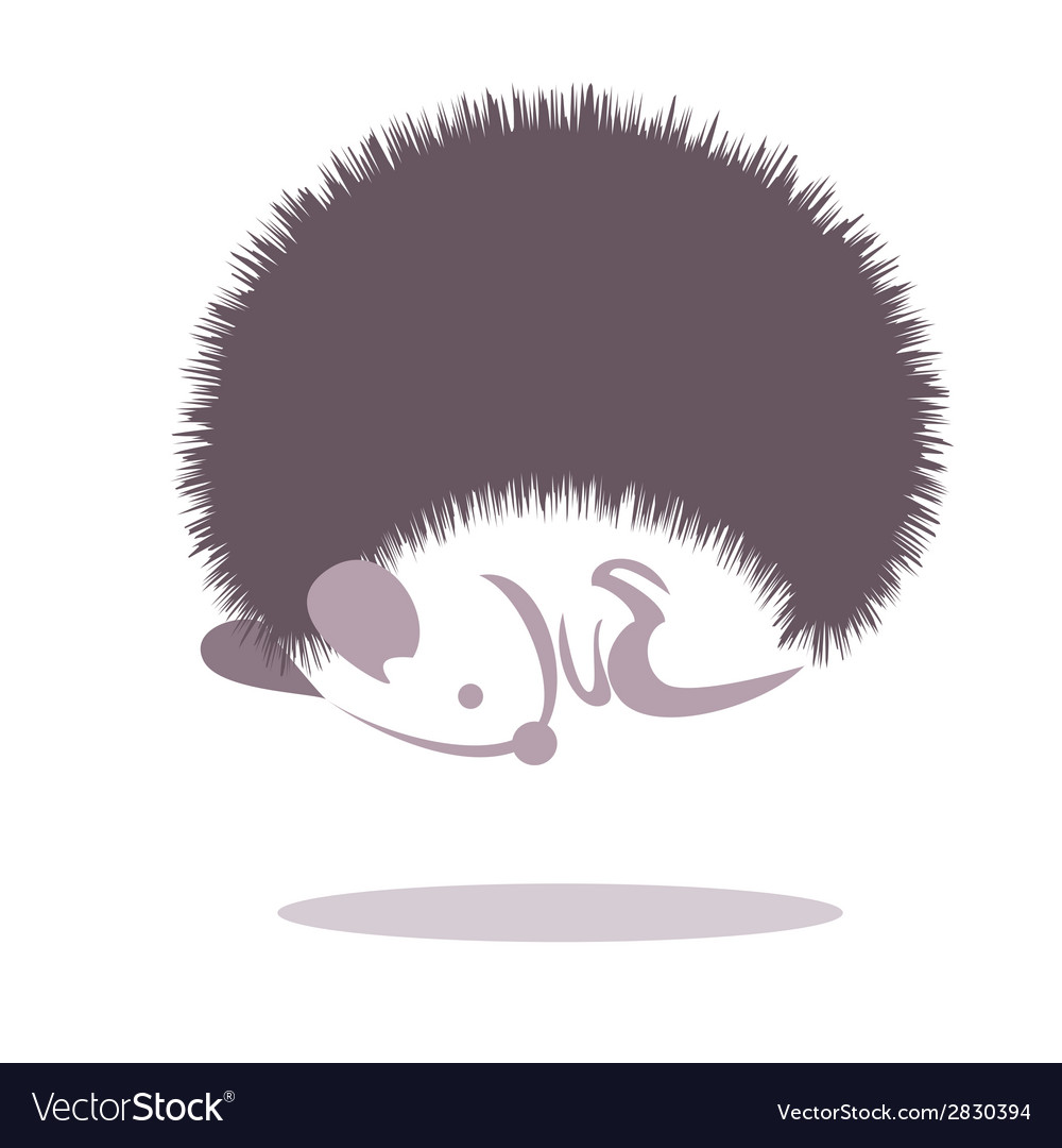 Hedgehog 2 vector | Price: 1 Credit (USD $1)
