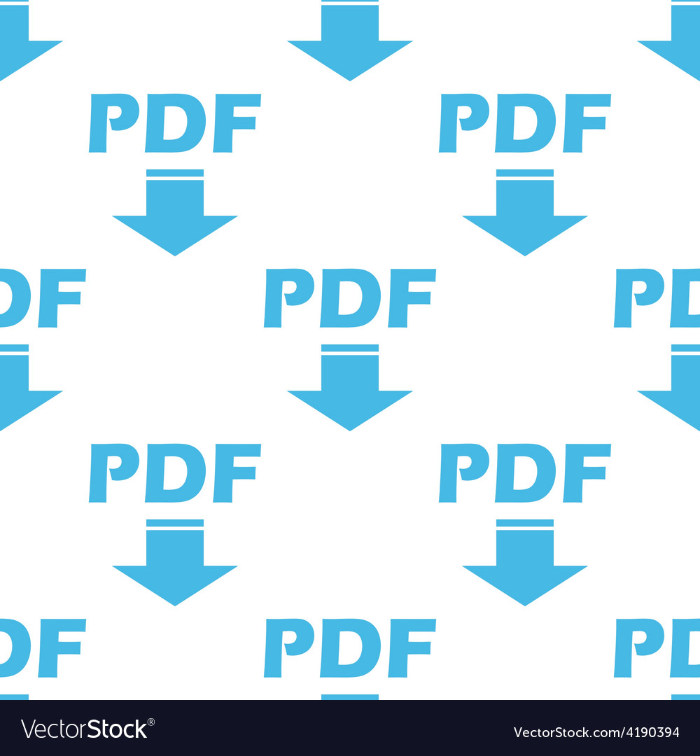 Pdf seamless pattern vector | Price: 1 Credit (USD $1)