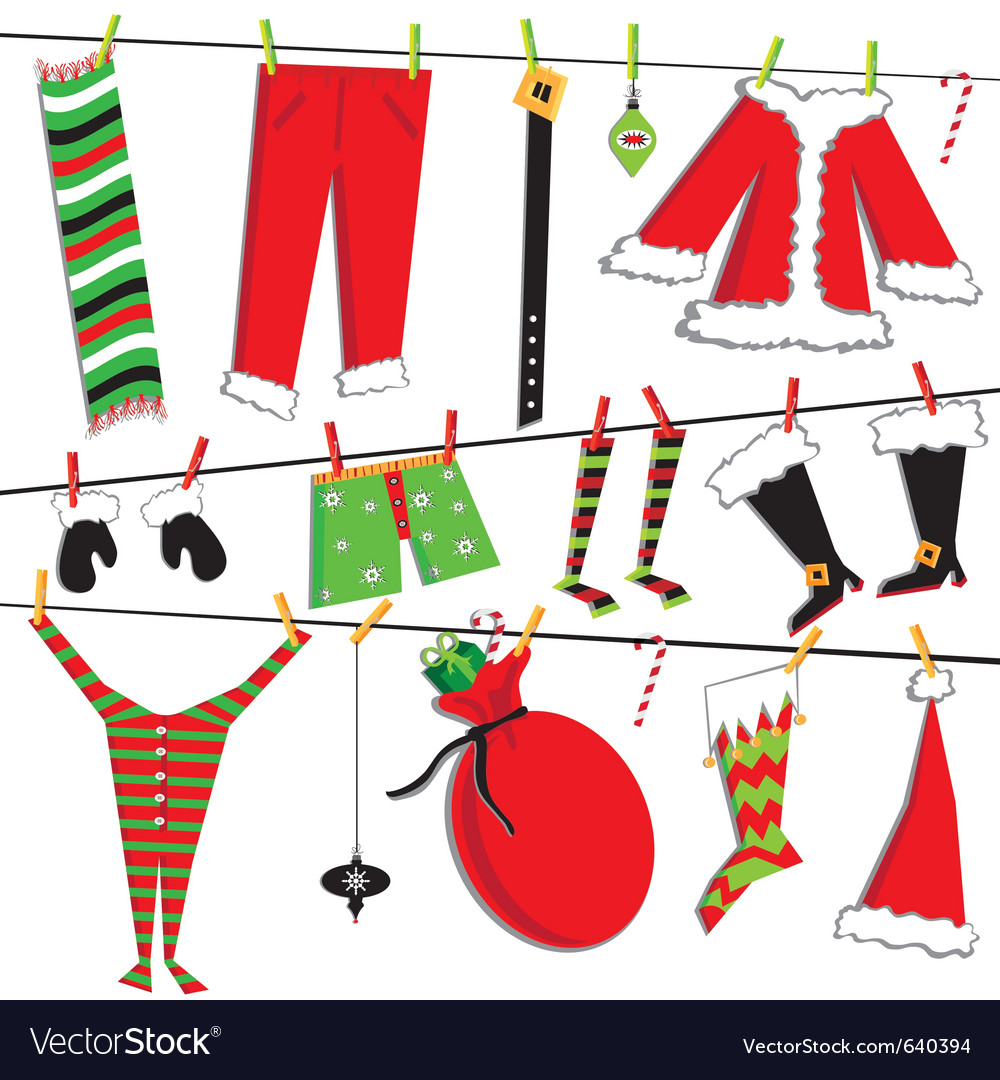 Santa claus christmas vector | Price: 1 Credit (USD $1)