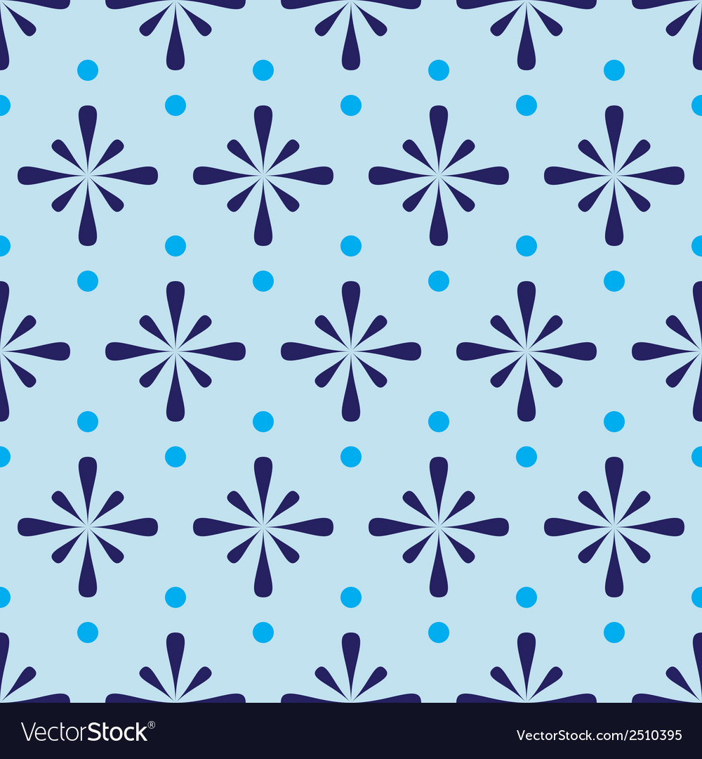 Abstract blue seamless pattern eps10 vector | Price: 1 Credit (USD $1)