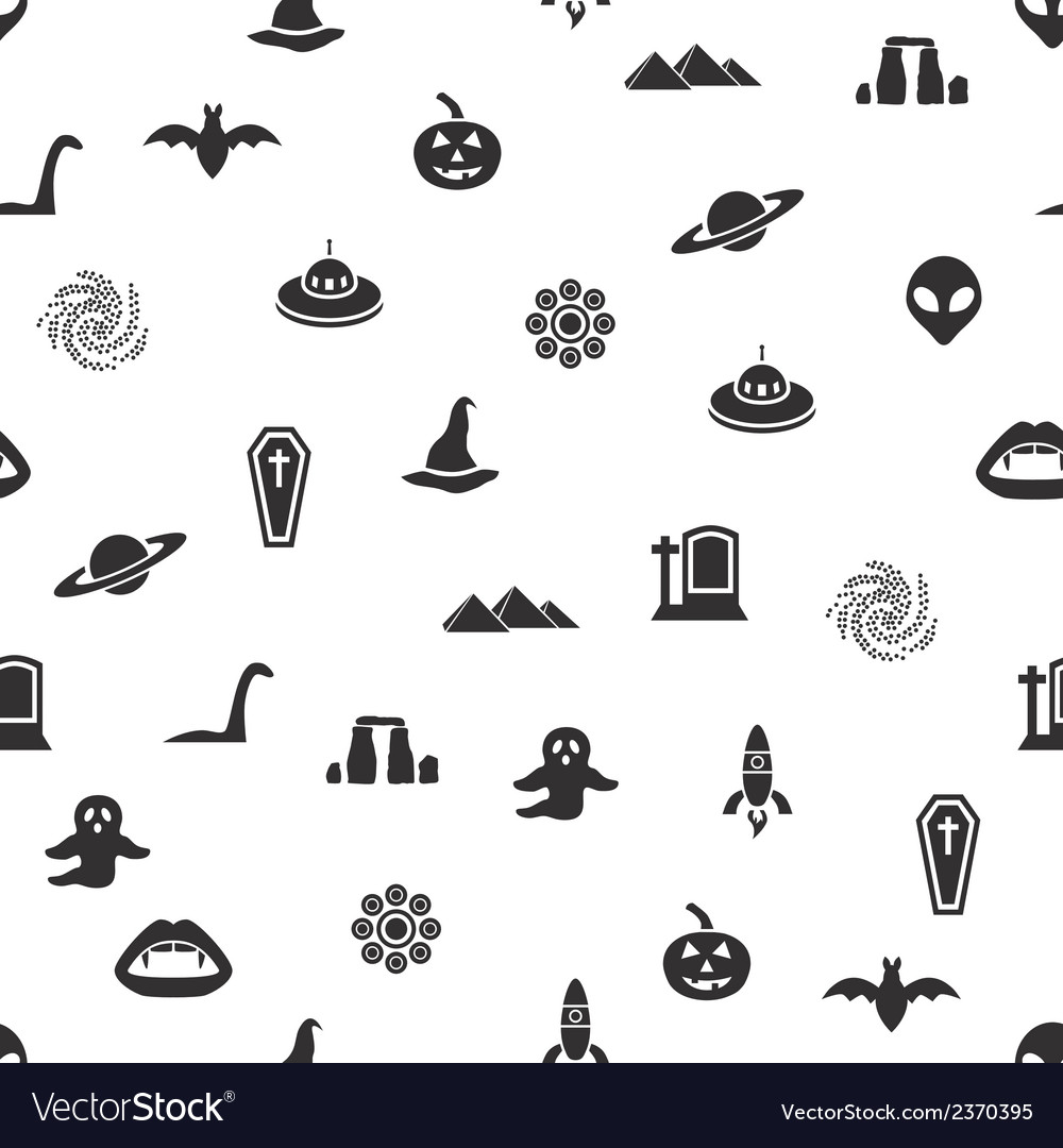 Mystic seamless pattern vector | Price: 1 Credit (USD $1)