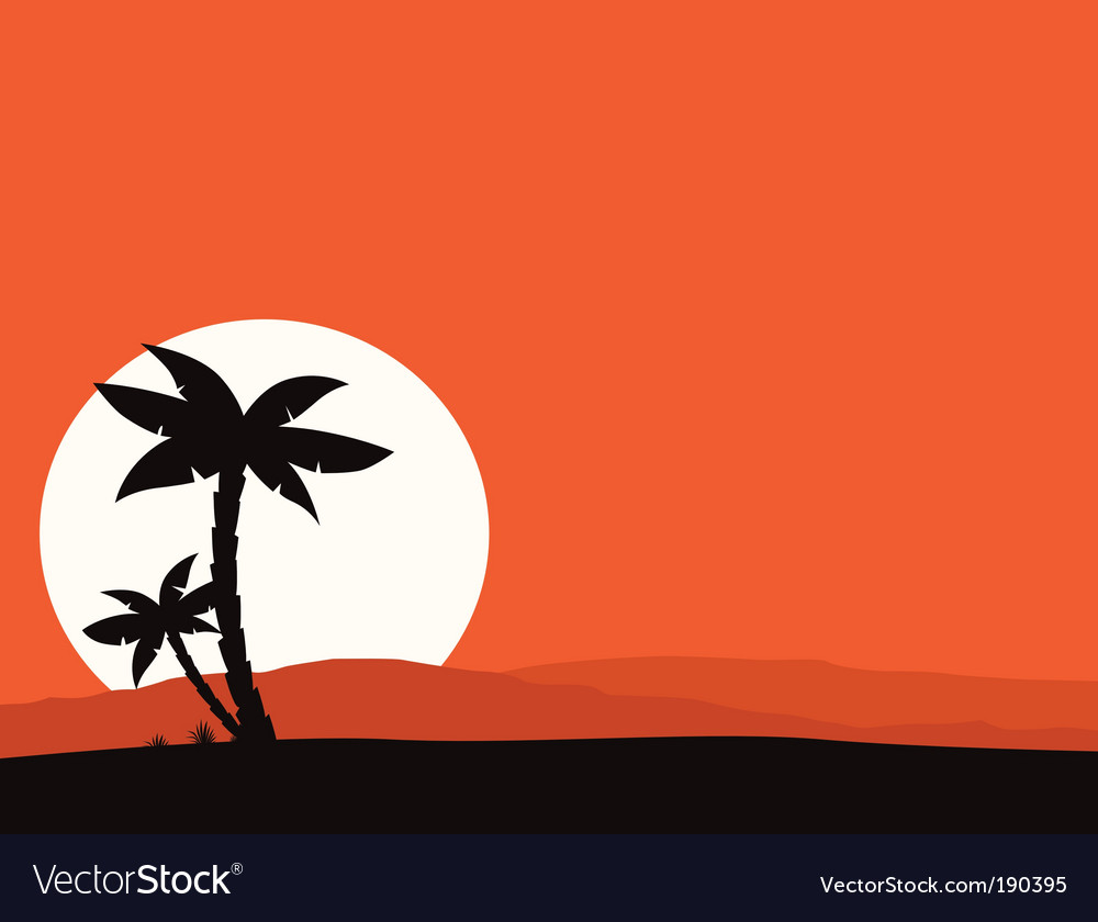Tropical holiday background vector | Price: 1 Credit (USD $1)