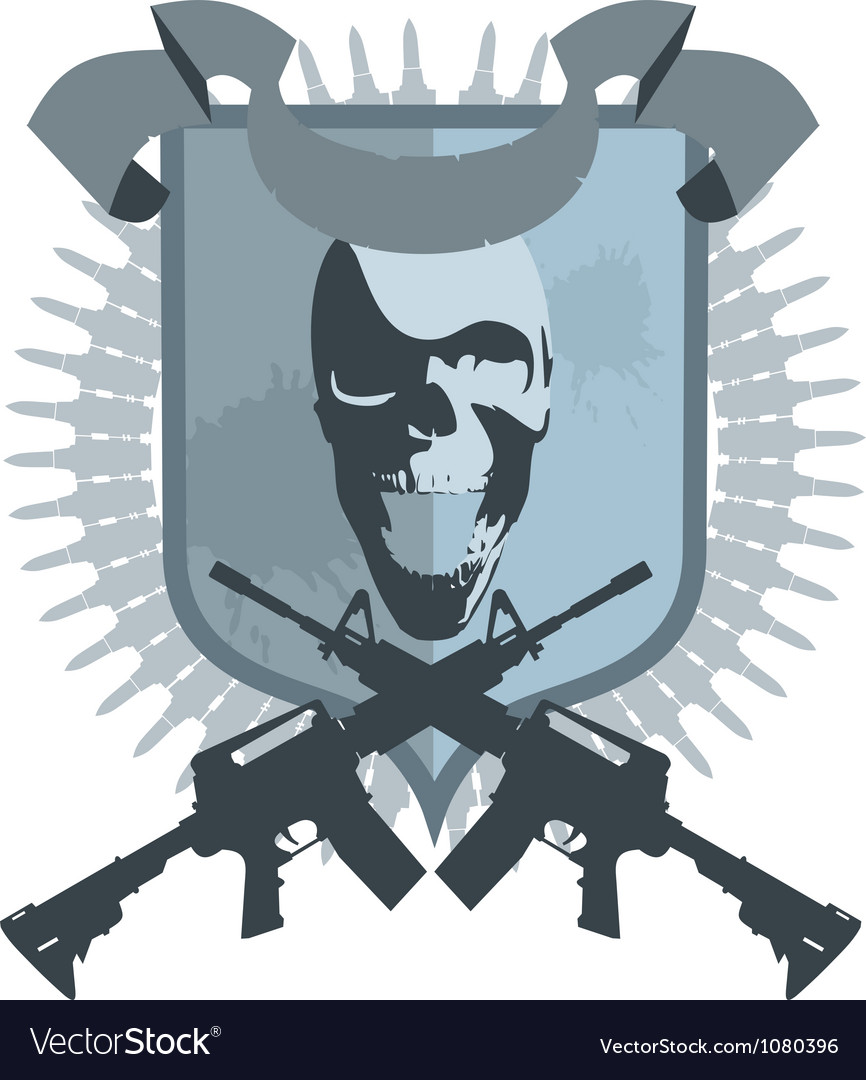 Emblem gangster vector | Price: 1 Credit (USD $1)